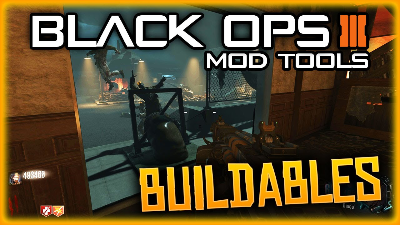 BLACK OPS 3 CUSTOM ZOMBIES, MOD TOOLS, NEW BUILDABLES, TRAMPLE STEAM AND  HEAD CUTTER TRAPS