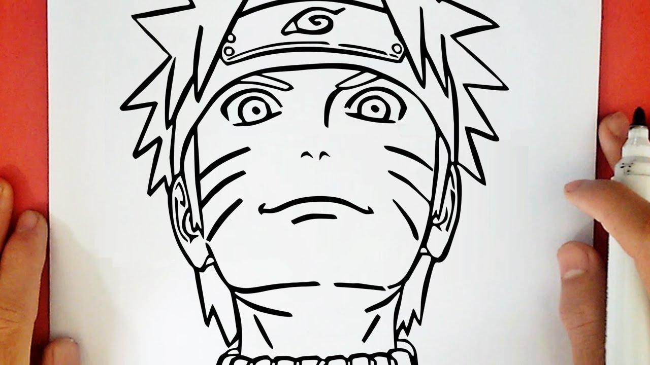 Comment Dessiner Naruto Shippuden Youtube