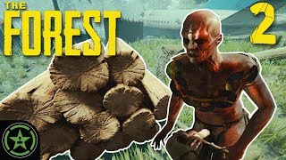 Choppin' Wood and Eatin' Legs - The Forest (#2) | Let's Play