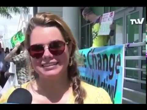 Protestas mundiales frente a las Embajadas de Brasil contra los incendios en la Amazonia