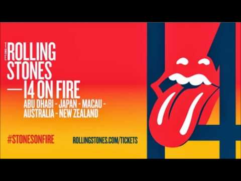 THE ROLLING STONES/ 14 ON FIRE JAPAN TOUR ,TOKYO DOME March,6 2014