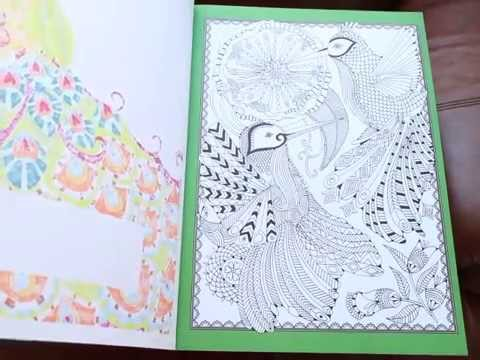 The big beautiful colouring book - YouTube