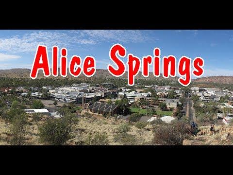 Alice Springs. Northern Territory, Australia.