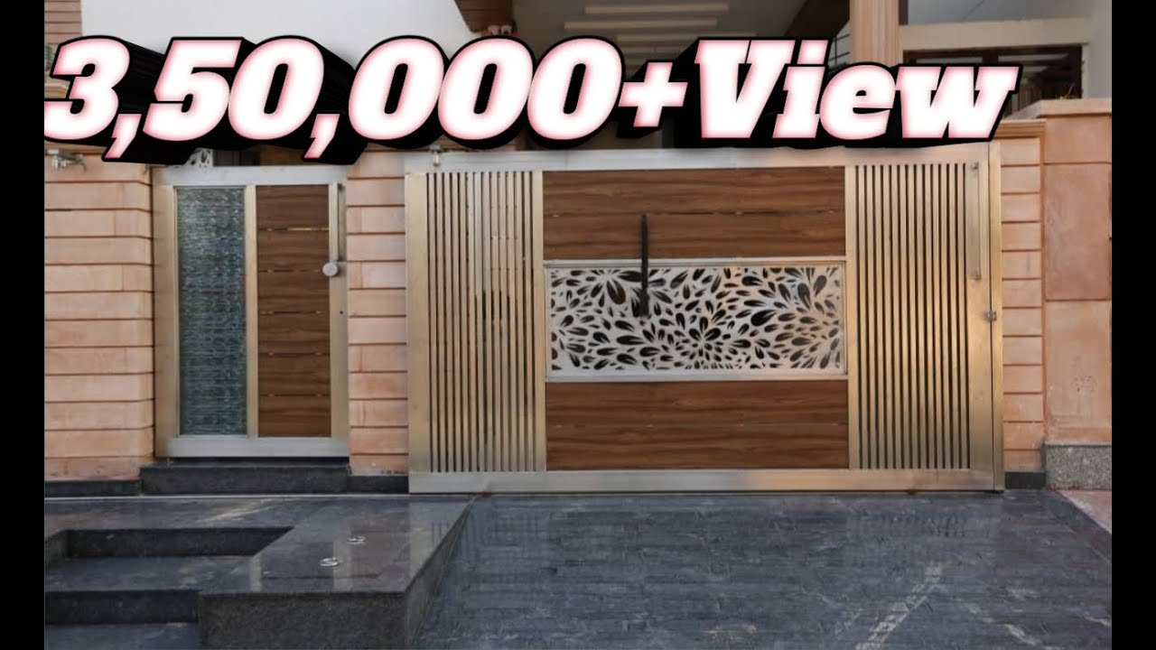 Top front/main gate design 2018-2019 - YouTube on Gate Color Ideas  id=63023