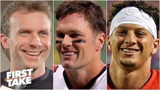 Joe Montana, Tom Brady or Patrick Mahomes: Which QB would you take for one game? | First Take