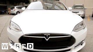 Tesla Model S: Software Update 4.0 - Wired Magazine