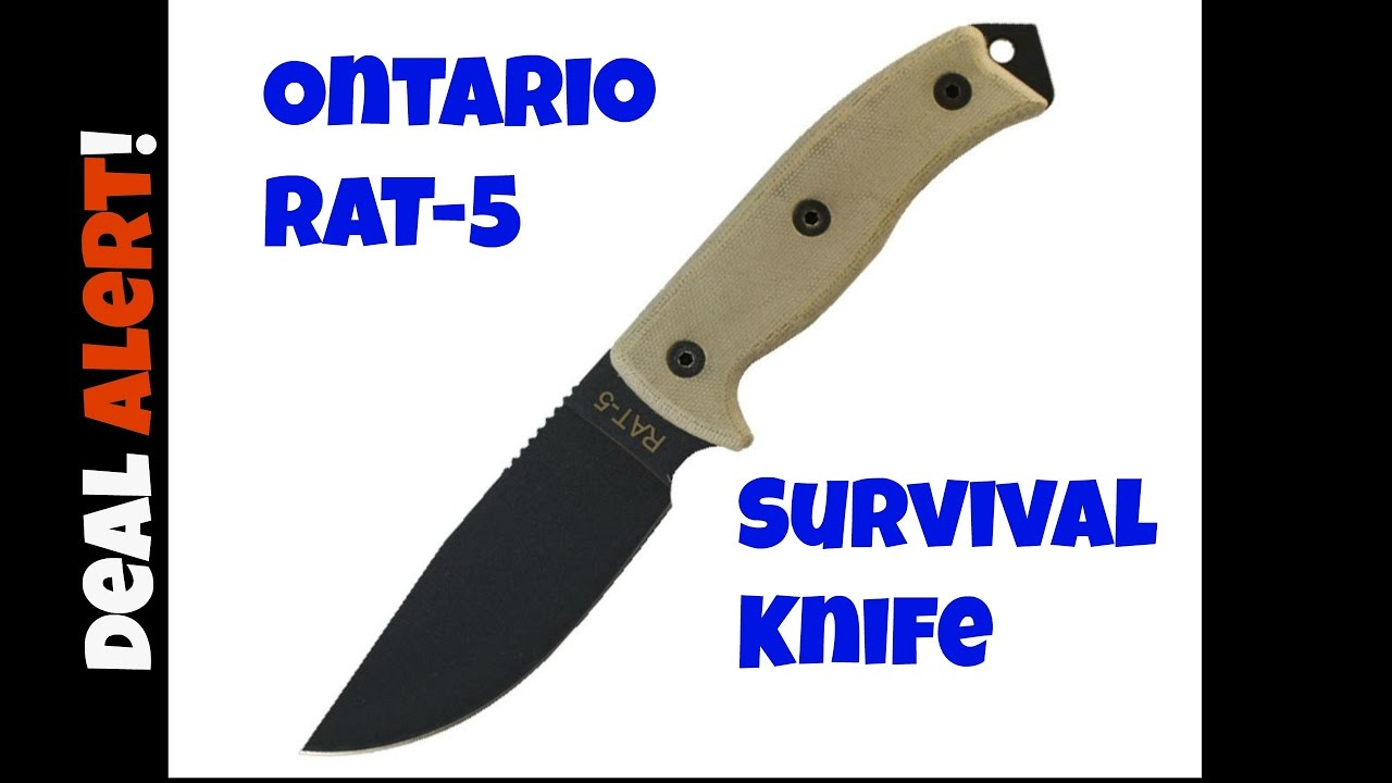 Ontario Rat 5 Sheath: Deal Alert # 136 : Ontario RAT-5 Survival Knife
