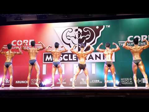 Muscle Mania Mumbai 2015- Teenage Bodybuilding