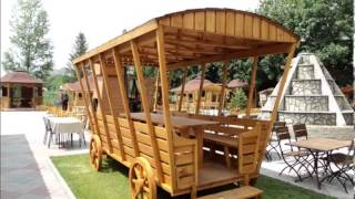 карета-фургон(Беседка