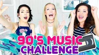 GUESS THAT 90's SONG CHALLENGE! w/ BasicallyBri123 & NikkiPhillippi!