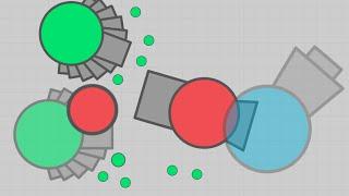 Diep.io THE STRONGEST BUILD (HYBRID) - Anti rammers 4TDM