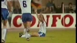 Fußball-WM 1986 Qualifikation: DDR - Frankreich 2:0