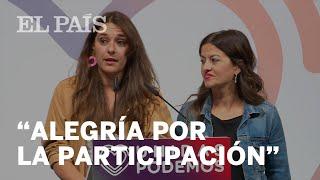 Unidas Podemos agradece la participación en las elecciones
