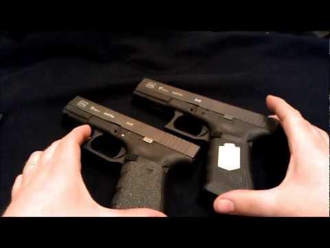 glock 17 vs glock 19 a closer look youtube