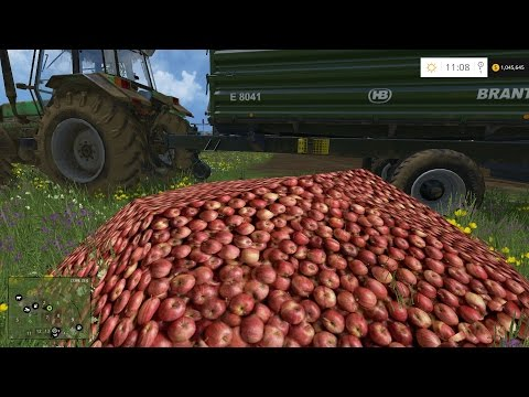 Farm Sim Saturday.....APPLES AND PEARS - - - SWEET MOD!!
