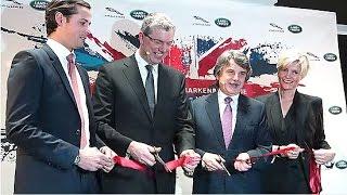 Teil 1: Opening Jaguar Land Rover Markenboutique München Odeonsplatz am 18.12.2015