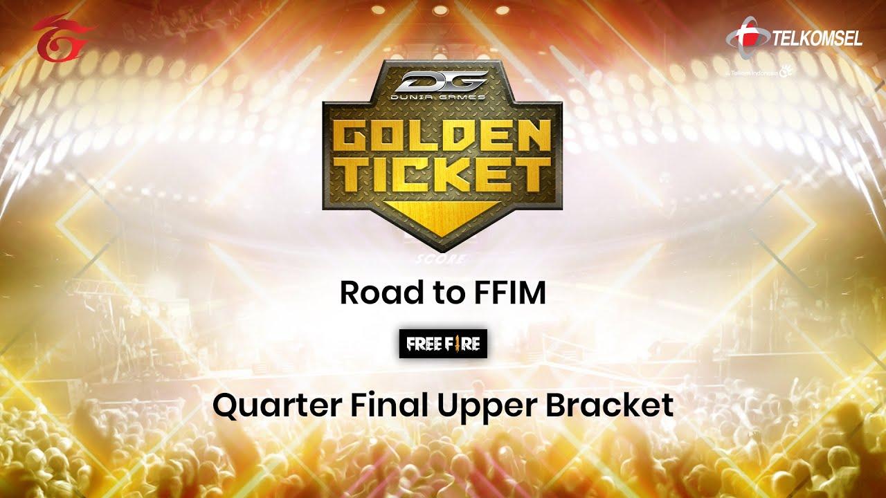 Dunia Games Golden Ticket