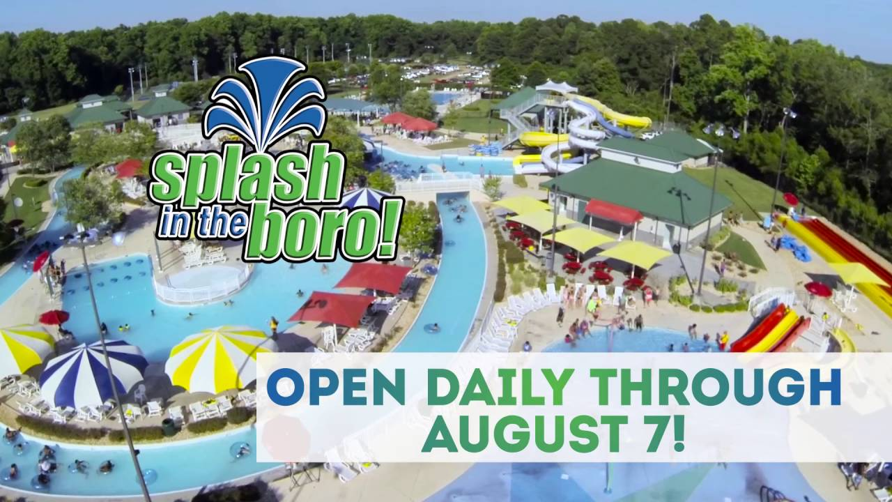 Splash In The Boro 2016 Youtube