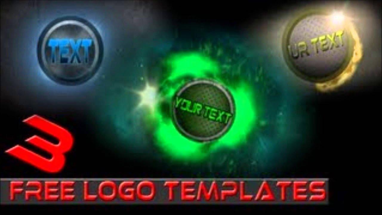 3 Awesome Logo Templates. - YouTube