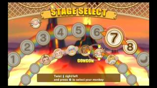 Super Monkey Ball: Banana Blitz: No Death Volcanic Pools