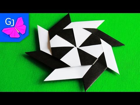 Звезда ниндзя оригами-трансформер
