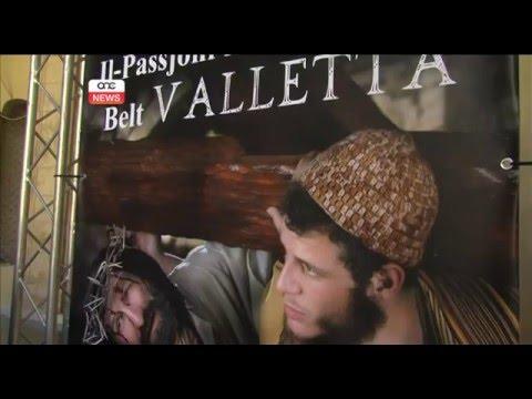 IL-PASSJONI TA' ĠESÙ KRISTU FIL-BELT VALLETTA.