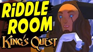 King's Quest Chapter 4 Snow Place Like Home Part 5 THE RIDDLE ROOM