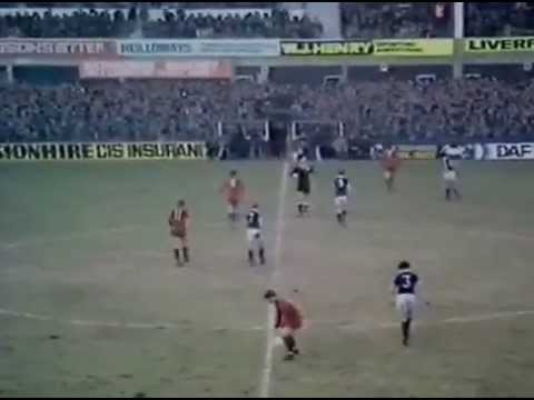 Everton v Wigan fa cup 4th Rd 1980