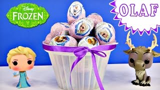 Disney Frozen Surprise Toy Eggs Where is Olaf? Elsa Princess Anna Huevo Congelado Sorpresa Princesa