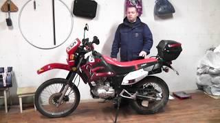 Отзыв о мотоцикле Lifan LF200 GY-5 после 3-х лет эксплуатации