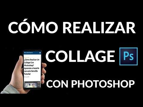 ¿Cómo Realizar Un Collage Con Photoshop?