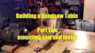 How To Diy Bandsaw Table Work Bench Part 2 Of 2