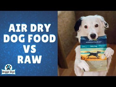 Air Dry Dog Food VS Raw Dog Food - ZiwiPeak Interview