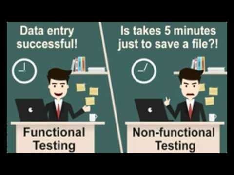 Functional Testing Vs  Non functional Testing