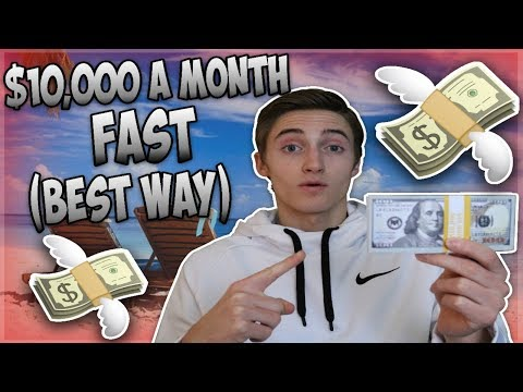 The BEST Way To Make $10,000 Per Month FAST Selling Online In 2018