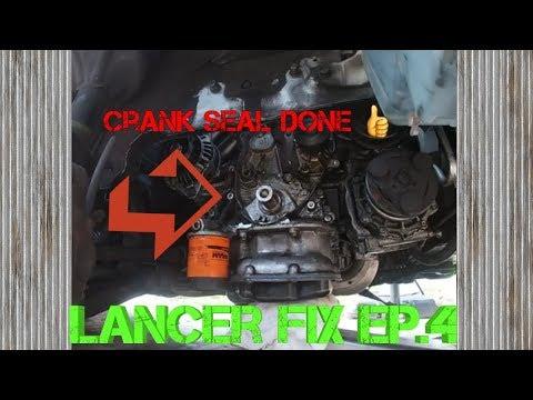 2002 Lancer Oz Rally Fix Ep.4 Crankshaft Seal, Water Pump, Timing Belt
