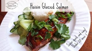 Hoisin Glazed Salmon | Quick And Easy | Chewie Chews Ep001