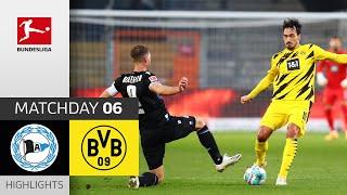 Arminia Bielefeld - Borussia Dortmund | 0-2 | Highlights | Matchday 6 – Bundesliga 2020/21