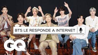 BTS responde lo más buscado de Internet | Lo más buscado | GQ México y Latinoamérica