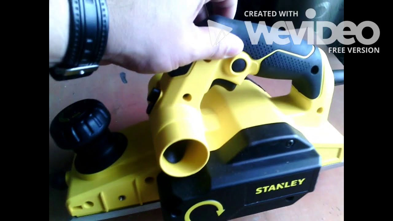 CEPILLO ELECTRICO STANLEY - YouTube 6bedb2cdcd9b