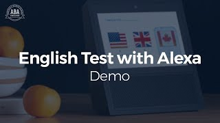 Collaboration with MIT: Alexa and the ABA English Test