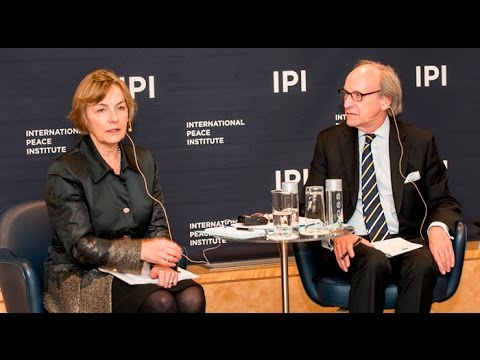UN Secretary-General Candidate Vesna Pusić Speaks at IPI