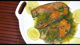 Perfect Lemon Butter Salmon - How to cook Salmon - Salmon Lemon Butter Sauce - Salmon Garlic Butter