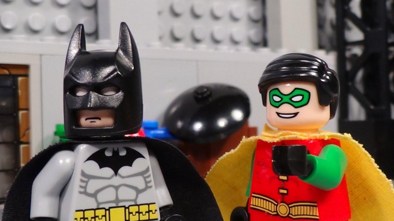 Lego Batman- Robin vs The Penguin | Doovi