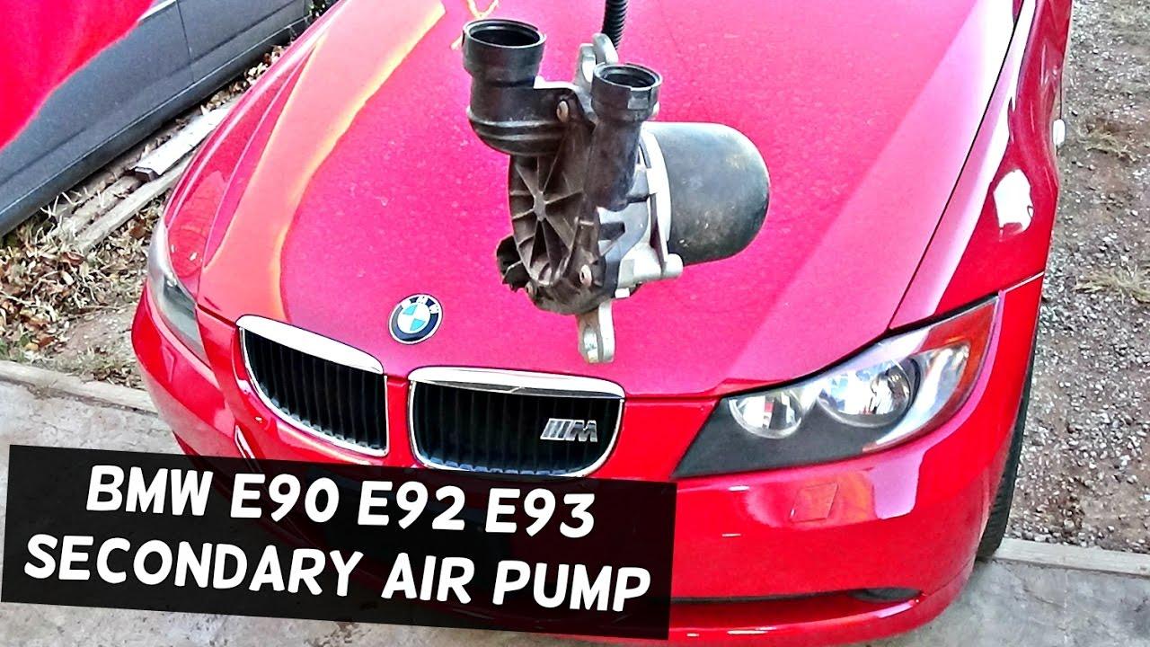 I Fuse Box Bmw E90 E92 E91 E93 Secondary Air Pump Removal And
