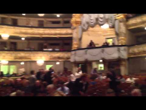 Mariinsky Theater in St Petersburg Russia