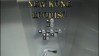 New KONE EcoDisc MRL Traction Elevator - Fashion Centre at Pentagon City - Arlington, VA