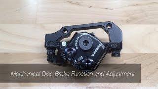 Mechanical Disc Brake InstaĮlation and Adjustment