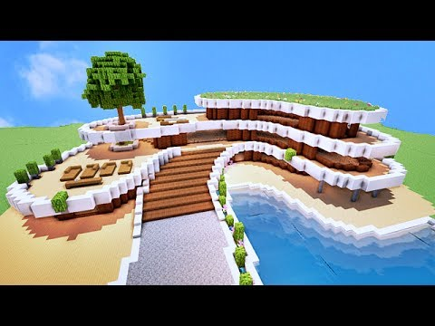 COMMENT FAIRE UNE VILLA DE LUXE SUR MINECRAFT ? TUTO !! - YouTube