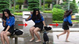Tiểu Cường Thích Hot Girls | HUGE FLY PRANK